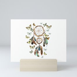 Butterfly Dream Catcher Mini Art Print