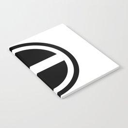 Curtis Holt Logo (Black) Notebook