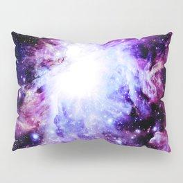 orion Nebula. Purple Magenta Violet Pillow Sham