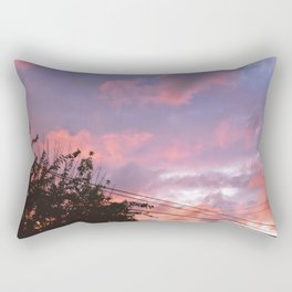 Sunset on August 4th, 2020. VI Rectangular Pillow