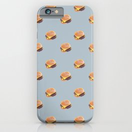 Double Cheeseburger, Plain iPhone Case