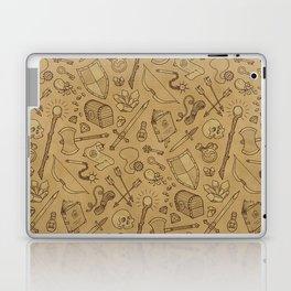 Inventory in Sepia Laptop & iPad Skin