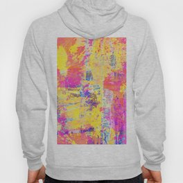 Always Look On The Bright Side - Abstract, textured painting Hoody