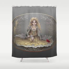 Your White Magic Shower Curtain