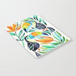 Tropical Toucans Notebook