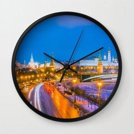 Kremlin Moscow Wall Clock