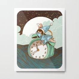 Sleep Fairy Metal Print