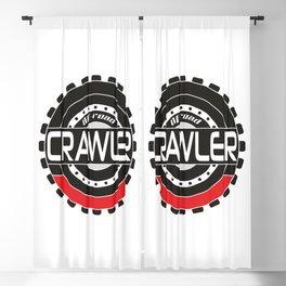 An offroad crawler wheel Blackout Curtain