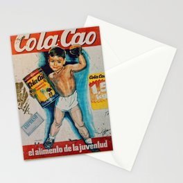 Vintage Cola Cao Stationery Cards
