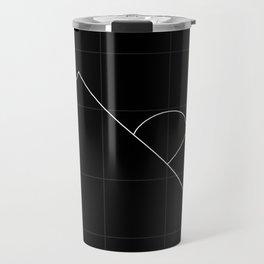 Apex Grid Dark Travel Mug