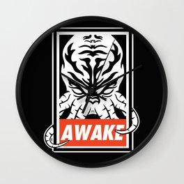Awake. Wall Clock