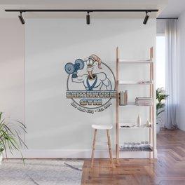 Earthworm Gym Wall Mural