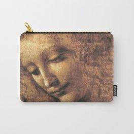 Leonardo da Vinci - Head of a Young Woman, La Scapigliata Carry-All Pouch