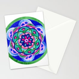 Nature Path Mandala Stationery Cards