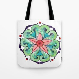 Bursting with Spring Tote Bag