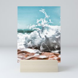 Sea side Mini Art Print