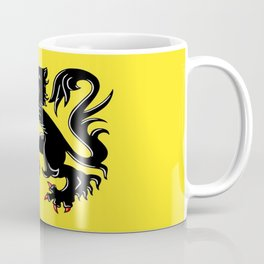 Flag of Flanders - Belgium,Belgian,vlaanderen,Vlaam,Oostende,Antwerpen,Gent,Beveren,Brussels,flamish Coffee Mug
