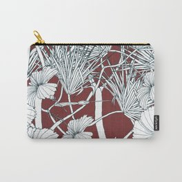 Hibiscus meets Pandanus (St. Damien 2) Carry-All Pouch