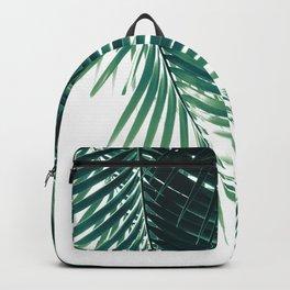 b96d2f55e4cd Palm Leaves Green Vibes  4  tropical  decor  art  society6 Backpack