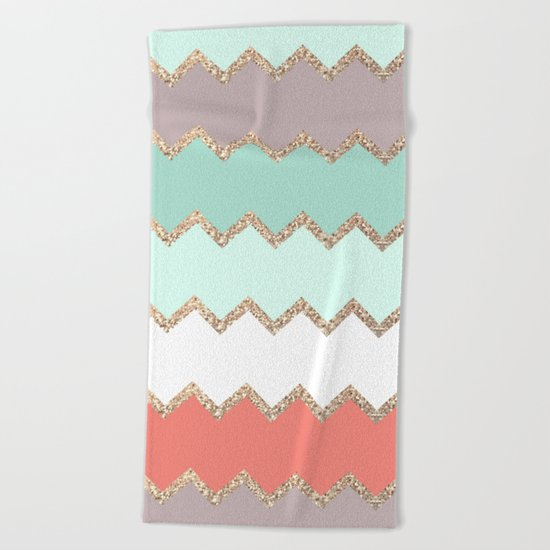 AVALON CORAL Beach Towel