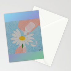 Loves Me...Loves Me Not Stationery Cards