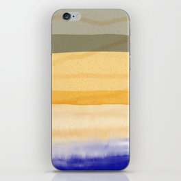 Brush Strokes Art, Watercolor, Color Theory Home Accessories iPhone Skin