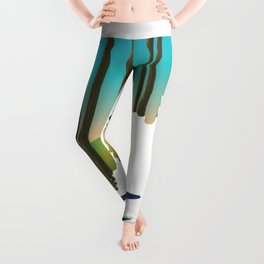 White mountain national forest New Hampshire  Leggings