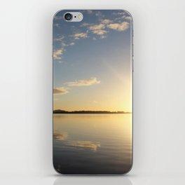Glaring Sun iPhone Skin