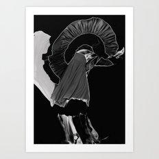 Fluorine09 Art Print
