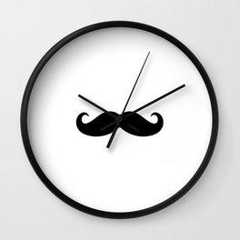 He Moustache Wall Clock
