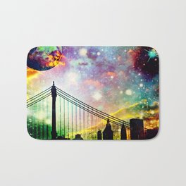 Galaxy Bridge Bath Mat