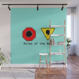 Funny & Unique Gifts for Writers: Rules of the Read Wall Mural
