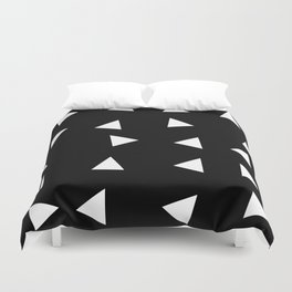 Triangle pattern B1 Duvet Cover