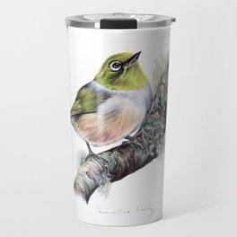New Zealand Waxeye Travel Mug