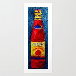 LHS - Hot Sauce Art Print