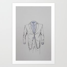 Male Specimen I Art Print
