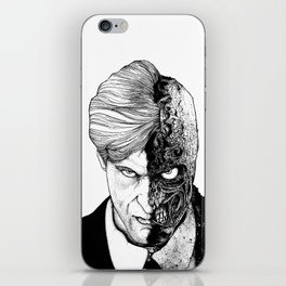 TwoFace iPhone Skin