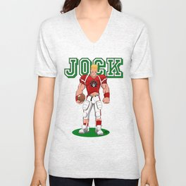 Jock Unisex V-Neck