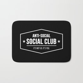 Anti-Social Social Club Bath Mat