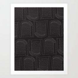 Architecture Pattern Art Print
