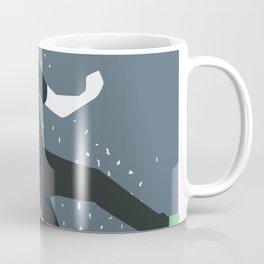 bouldering man Coffee Mug