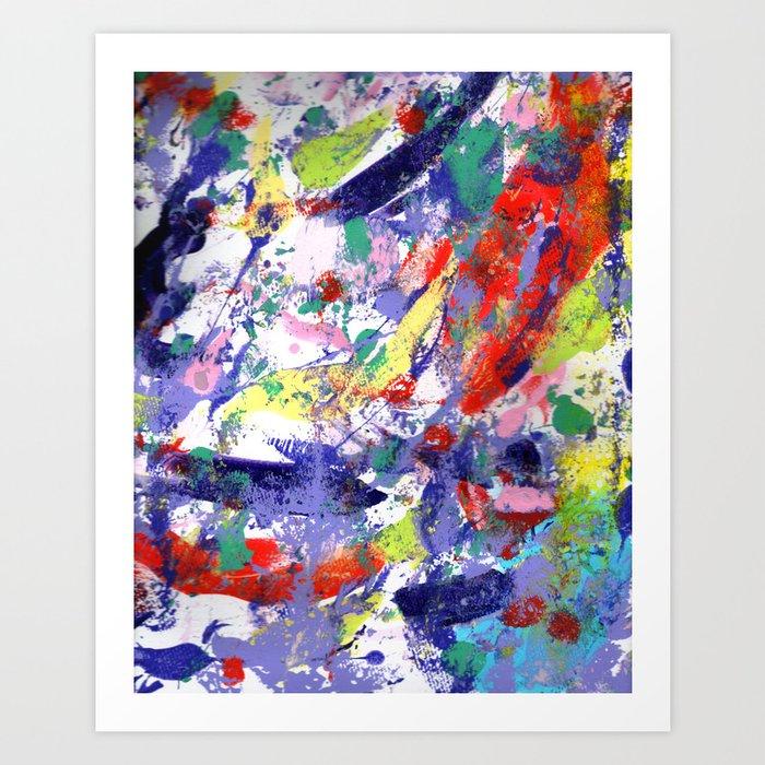 Lively Art Print