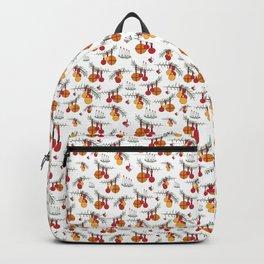 Scandinavian Christmas Snow Hygge Backpack
