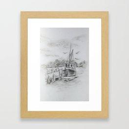 Ship in Every Port Framed Art Print