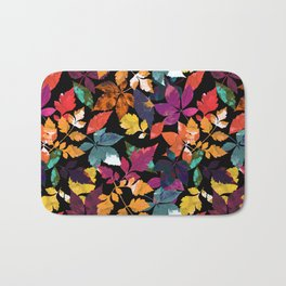 Fall Leaves Bath Mat