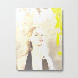 Woman n98 Metal Print