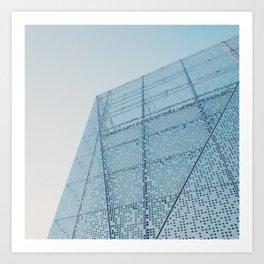 Pale blue Art Print
