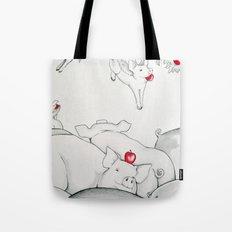 Flying Pigs Tote Bag