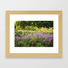 Flower Farm Framed Art Print
