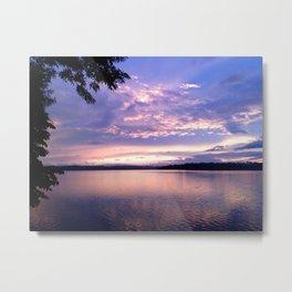 Pastel Sunset Metal Print